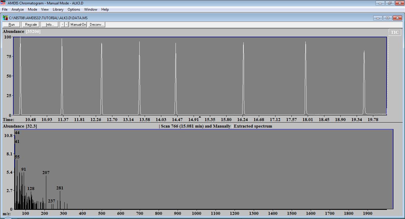 AMDIS software