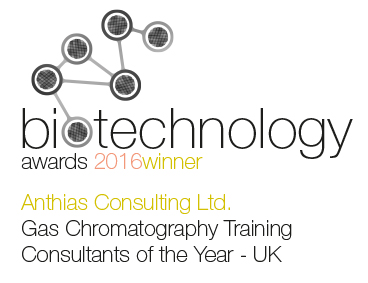 Anthias - Gas Chromatography Training Consultants of the Year - UK winners